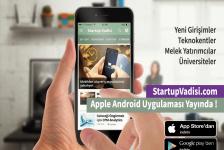 Startup Vadisi Apple ve Android Uygulaması Yayında !