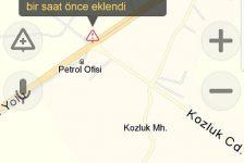İçişleri Bakanlığı trafik kazalarını önleme projesi kapsamında sürücüleri Yandex üzerinden uyarıyor