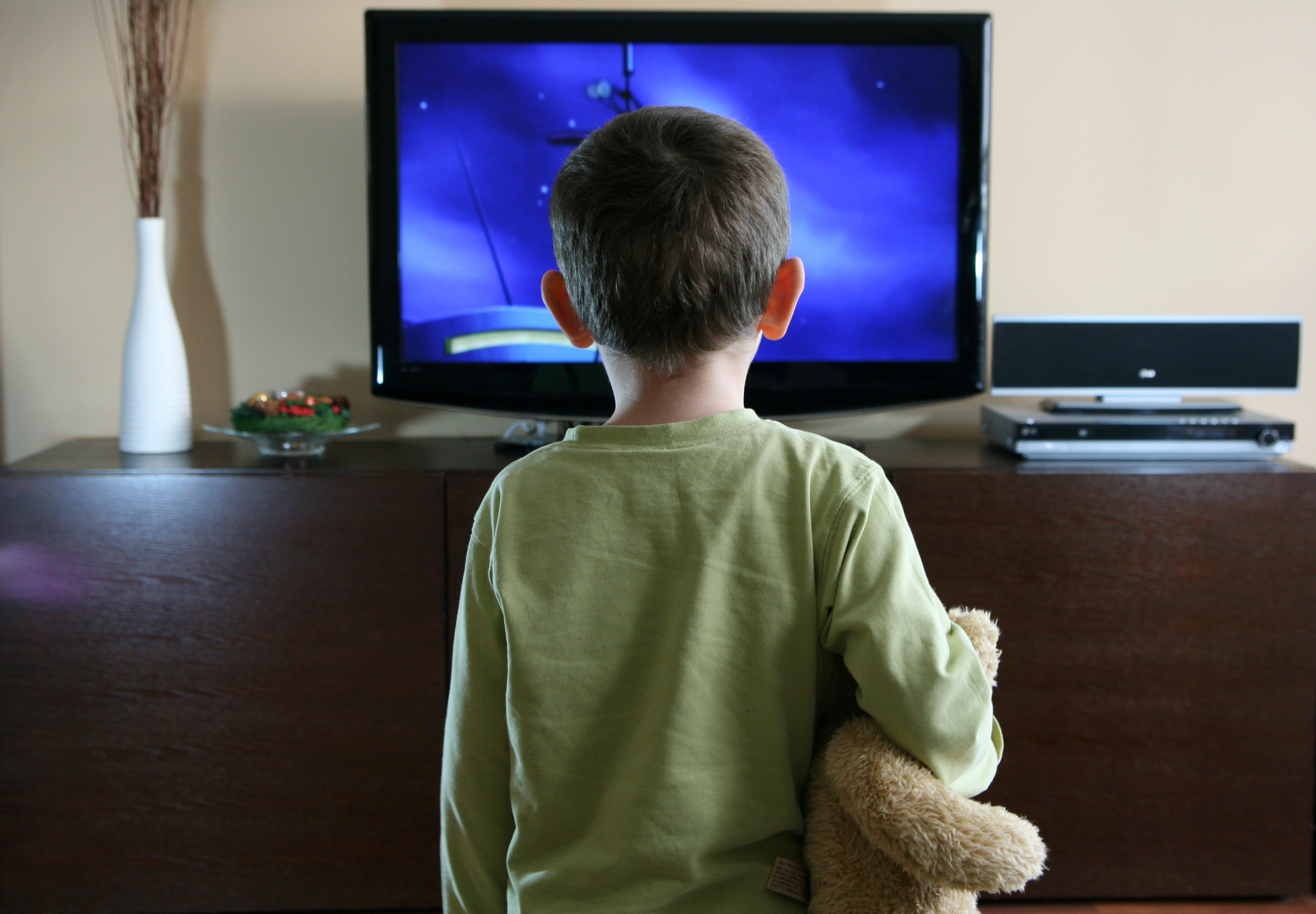 the creative writing watching television