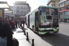 Büyükşehirden Enerjide Bir İlk Daha 'Akıllı Şehir Gaziantep'te  Elektrikli Otobüsler Yola Çıktı